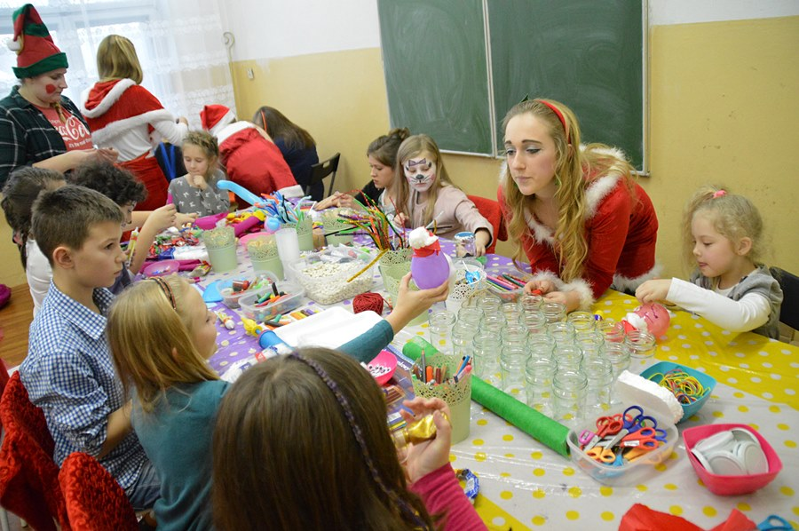 Nowy Świat: Spotkanie Mikołajkowe dało radość dzieciom i dorosłym
