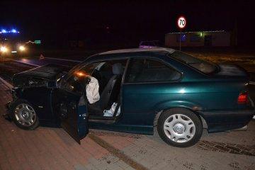 Wideo: Kolizja drogowa w Laskach