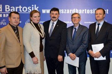 Wideo: Otwarcie biura posła Bartosika