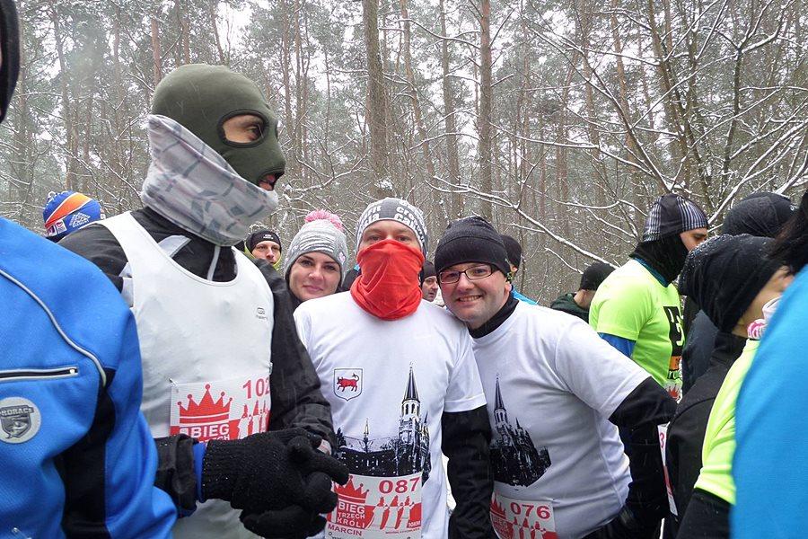Śnieg i mróz nie przeszkadza turkowskim biegaczom