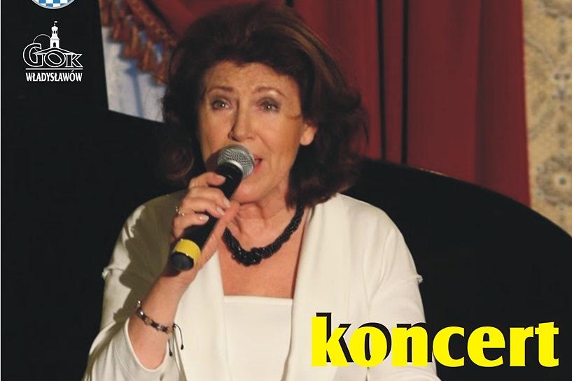 Władysławów: Halina Frąckowiak zaśpiewa w Domu Parafialnym