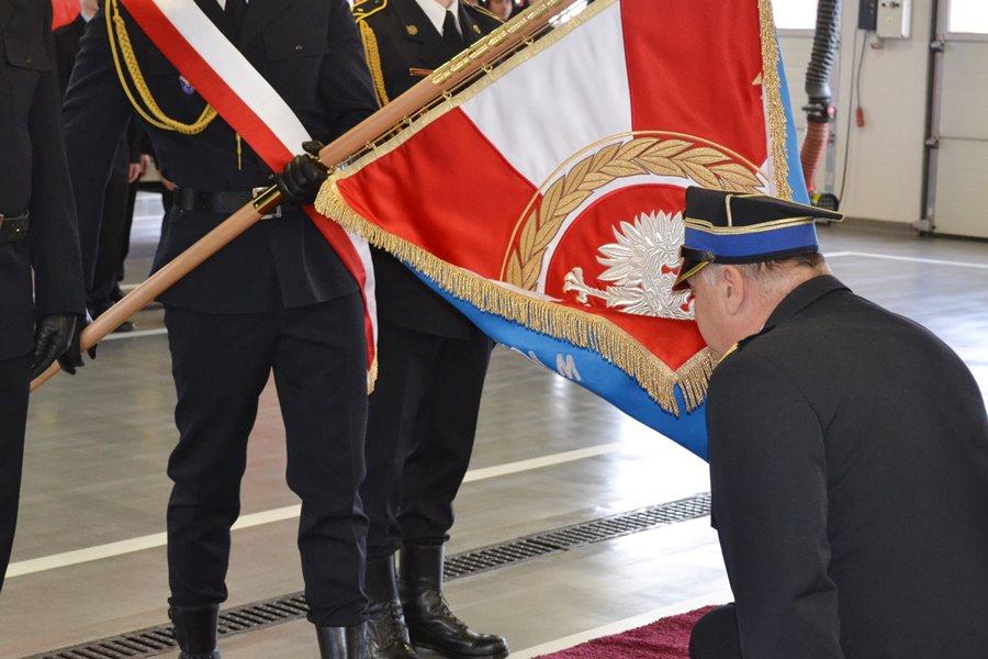 Komendant PSP w Turku zakończył służbę w straży