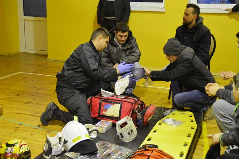 Chylin: Strażacy szkolili się w niedzielne popołudnie