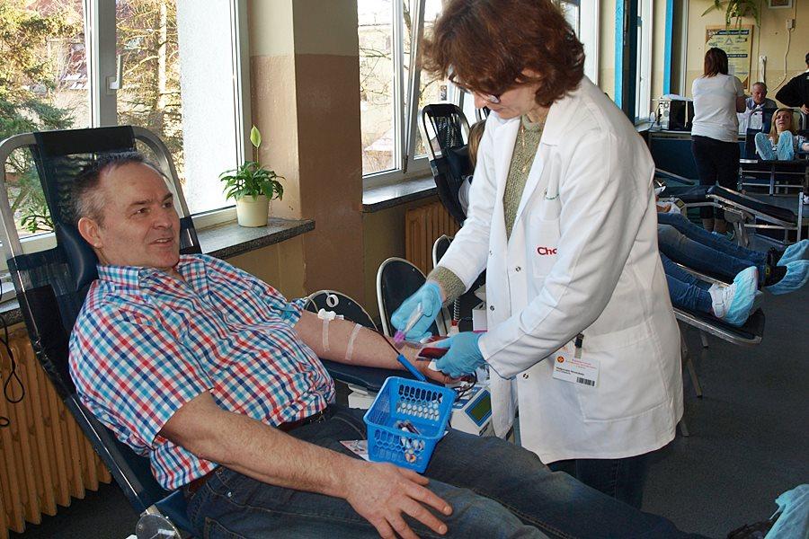VI akcja poboru krwi, czyli wyraz patriotyzmu w Kaczkach
