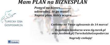 Konkurs: Mam plan na biznesplan