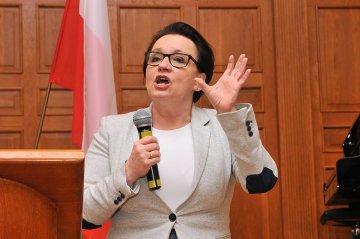 Wideo: O edukacji z minister Zalewską