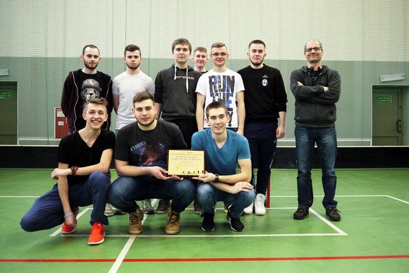 Uczniowie ZST w wojewódzkim finale w unihokeju