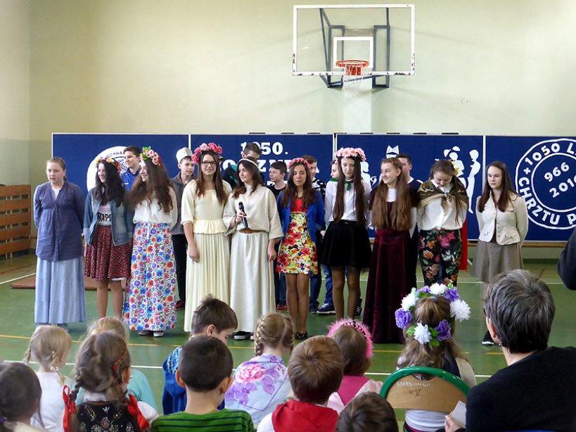 Wideo: Uczcili 1050-tą rocznicę Chrztu Polski w Kowalach Pańskich