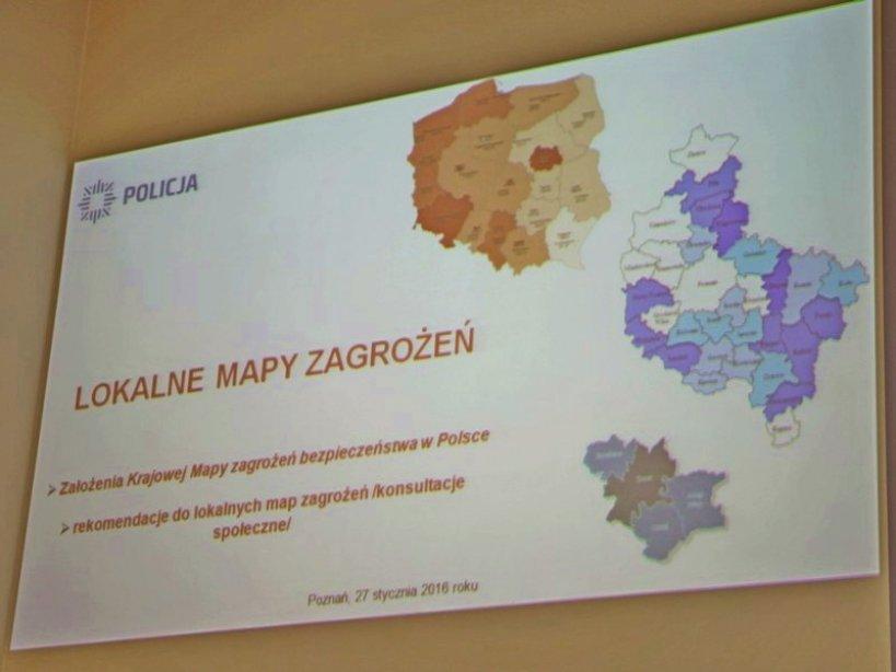 Dziś debata w Przykonie. Policja zaprasza na konsultacje w sprawie tworzenia Mapy zagrożeń