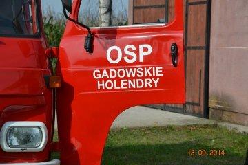 Dzięki pomocy i wsparciu OSP Gadowskie Holendry...