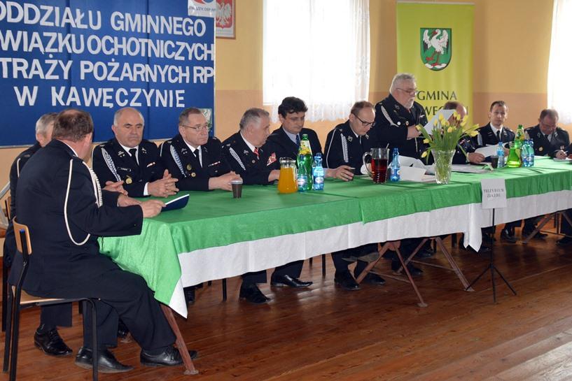 Kawęczyn: Pasik prezesem, Chachuła komendantem. Młodzi na czele Zarządu Gminnego OSP