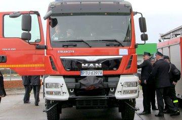 Wideo: Nowy wóz bojowy w OSP Kowale Pańskie