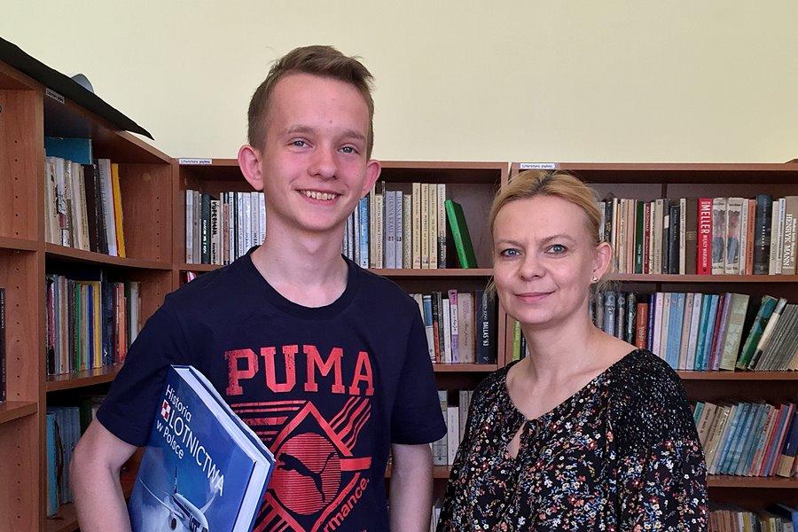 Szymon zna się na historycznym orężu. Uczeń Gimnazjum nr 1 ogólnopolskim finalistą!
