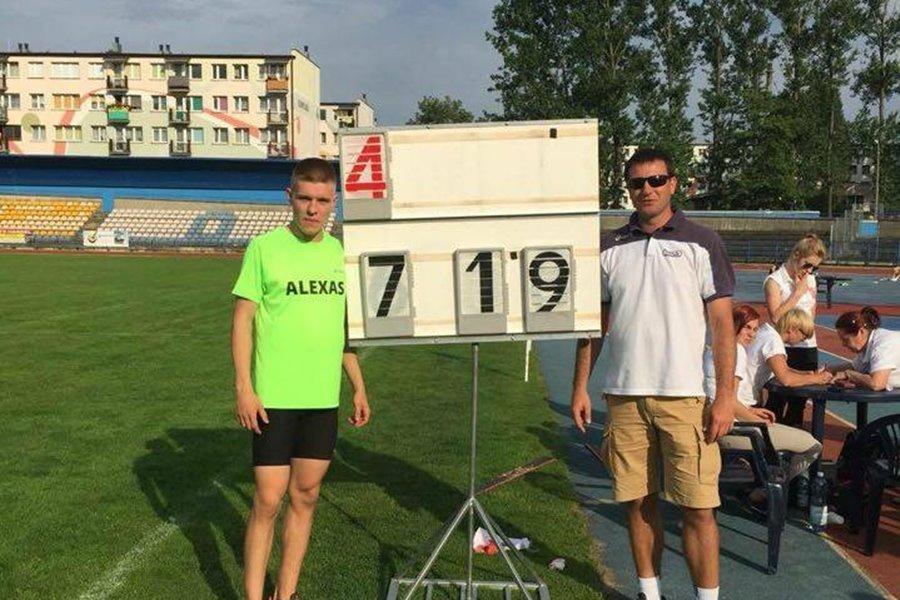 Bartek Gąbka jedyny w Polsce i trzeci w Europie. Imponujący skok zbliżył go do Mistrzostw Europy