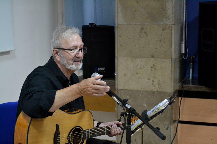 Krzysztof Daukszewicz na Nocy Bibliotek