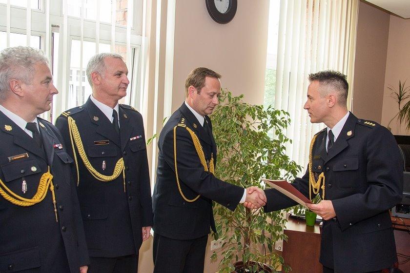 Dariusz Stasiak mianowany Komendantem PSP