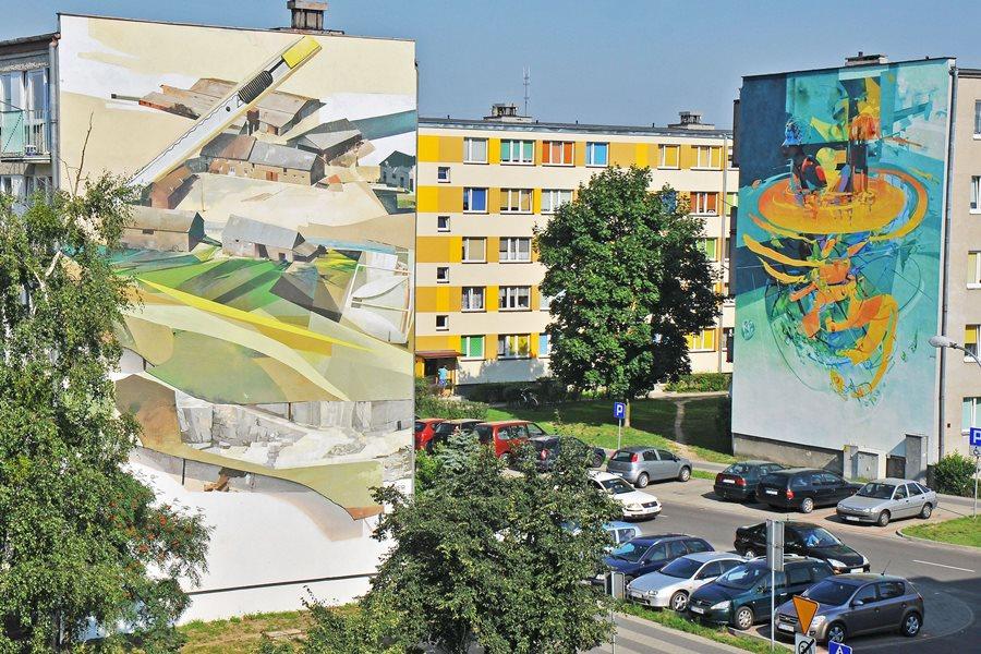 Murale zostają w Turku! - foto: M. Derucki