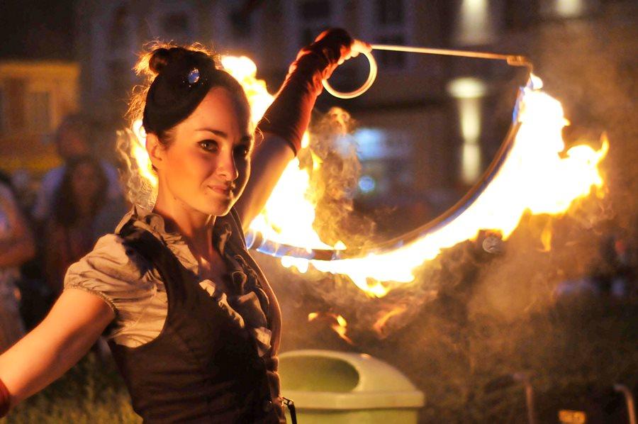 To będzie prawdziwy teatr ognia! Wywiad z Martyną Fiszer - foto: M. Derucki