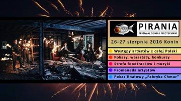 Festiwal Ognia i Pirotechniki PIRANIA