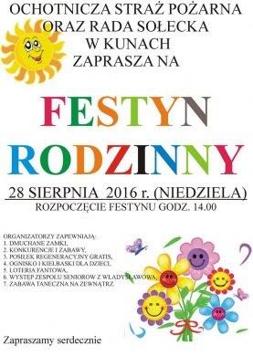 Festyn Rodzinny w Kunach