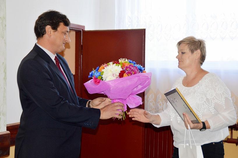 Tokary: Gratulowali nowej sołtys. Małgorzata Skurczak-Szymańska będzie miała sporo pracy