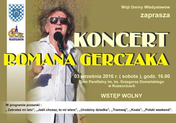 Koncert Romana Gerczaka