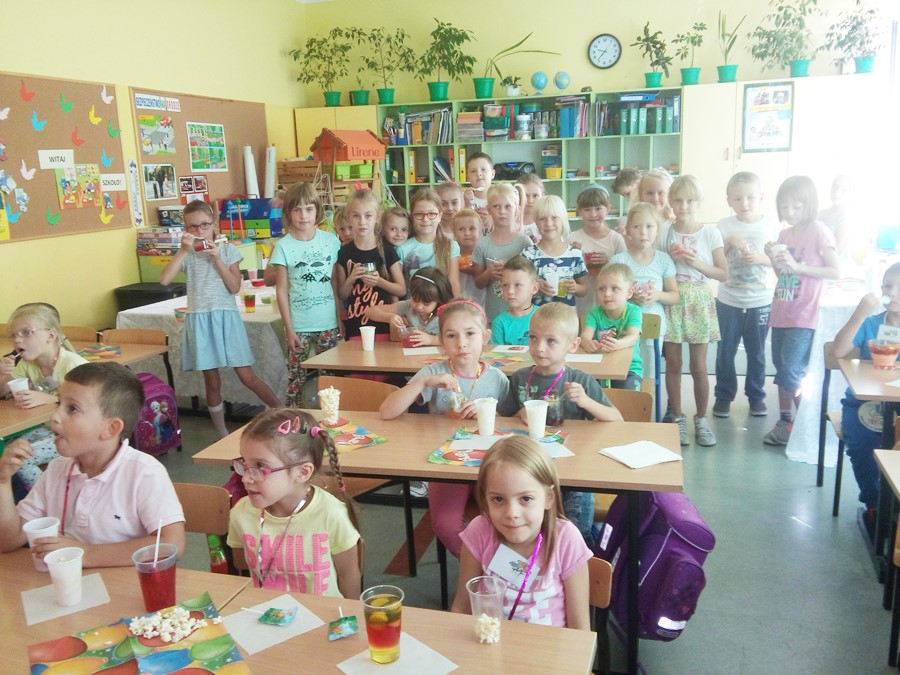 Powitali przedszkolaków