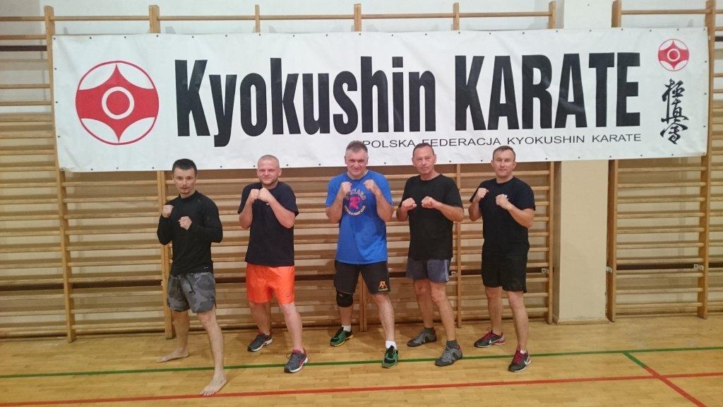 Karatecy trenowali w Tucholi