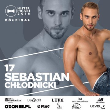 Sebastian zostanie Misterem Polski? - foto: Mister Polski na Facebook.com