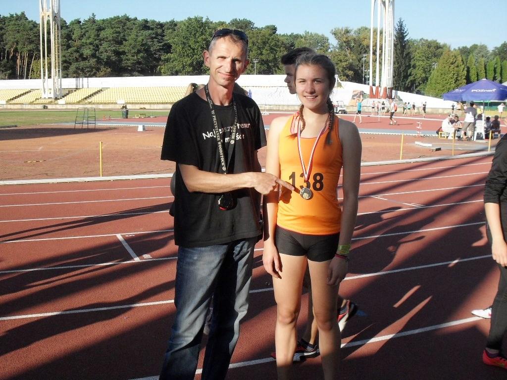 Słodków: Karolina wywalczyła srebro w biegu na 300 metrów