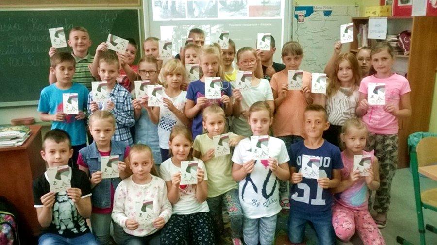 Powstańcy otrzymają kartki od uczniów z SP4