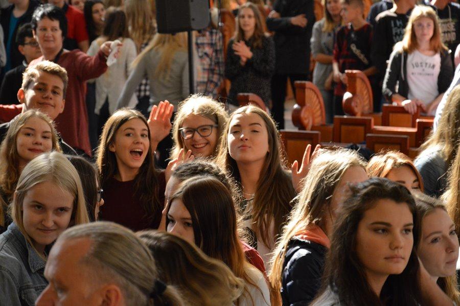 Uczniowie G2 na pielgrzymce w Licheniu