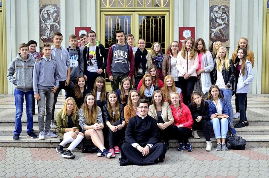 Licheńskie spotkanie gimnazjalistów