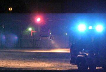Wideo: Śmigłowiec LPR w nocy lądował w Turku