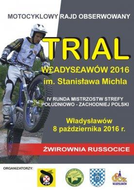 Motocyklowy Rajd Obserwowany Trial w Russocicach