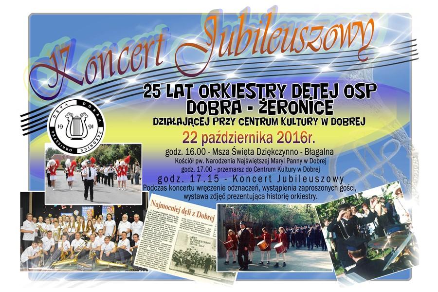 Orkiestra Dęta OSP Dobra-Żeronice świętuje 25-lecie działalności