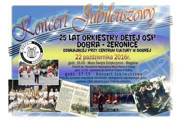 Orkiestra Dęta OSP Dobra-Żeronice świętuje...