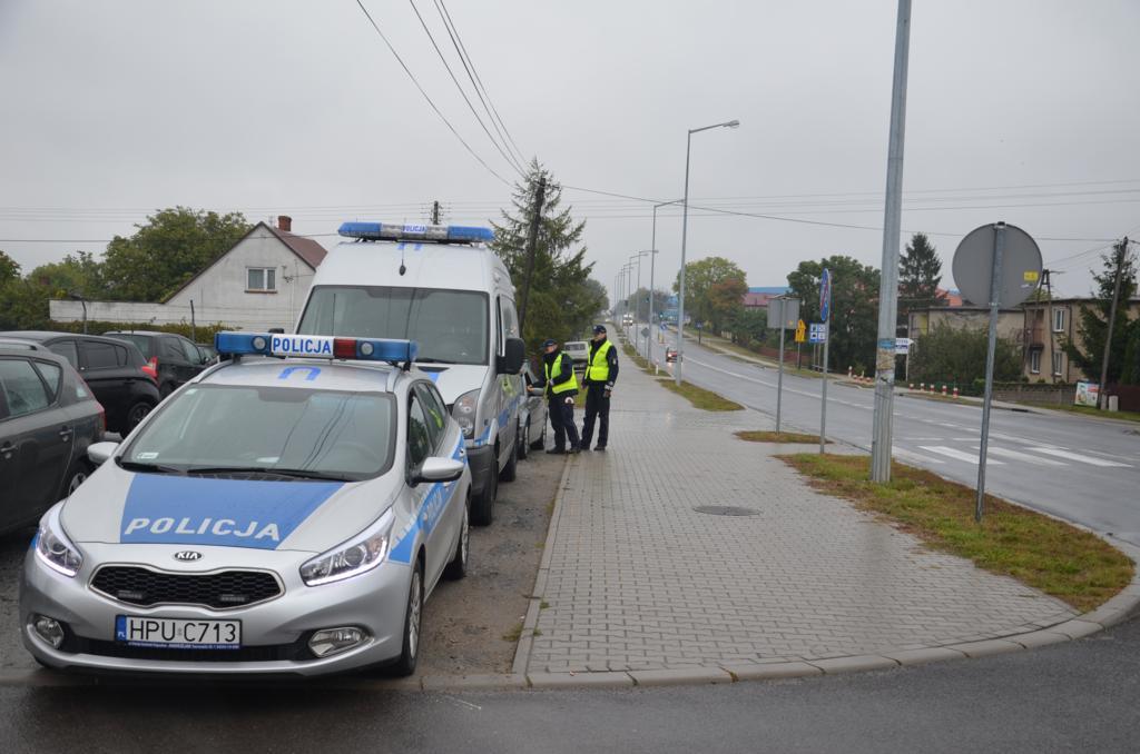 49 mandatów, 22 zatrzymane dowody. Na drodze W470 jest bezpieczniej - foto: KPP w Turku / www.turek.policja.gov.pl