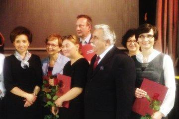 Beata Woźniak z nagrodą ministra
