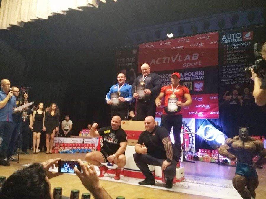 Fornalczyk na podium w Mistrzostwach Polski Złotoryja 2016 - Foto: archiwum prywatne nadesłane przez Konrad Fornalczyk