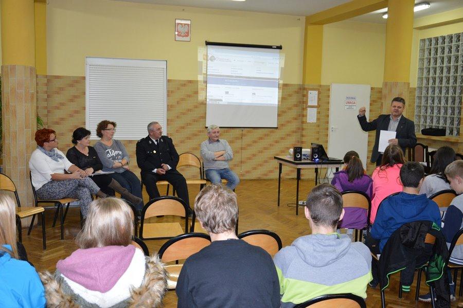 Spotkanie Młodzieżowej Drużyny Pożarniczej