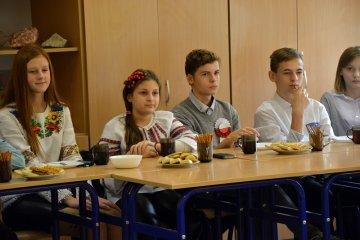 Goście z Ukrainy w ZS-P w Dobrej