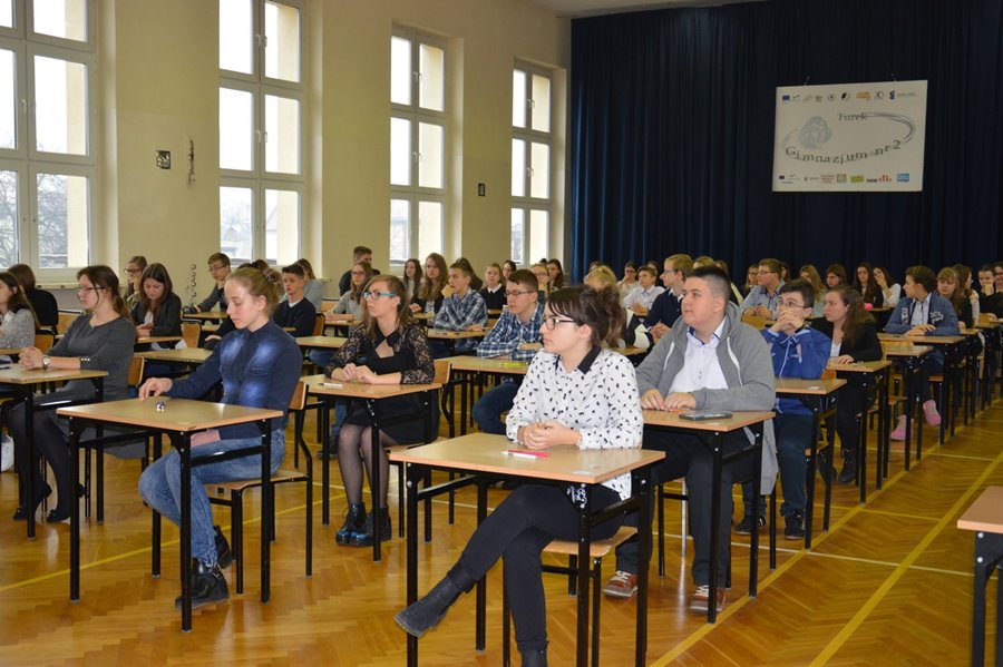Etap Rejonowy Wojewódzkiego Konkursu Języka Polskiego w Gimnazjum nr 2