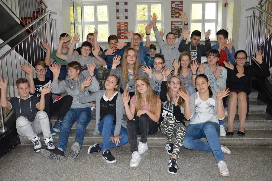 Uczniowie z G-2 pokazali swoją Alma Mater
