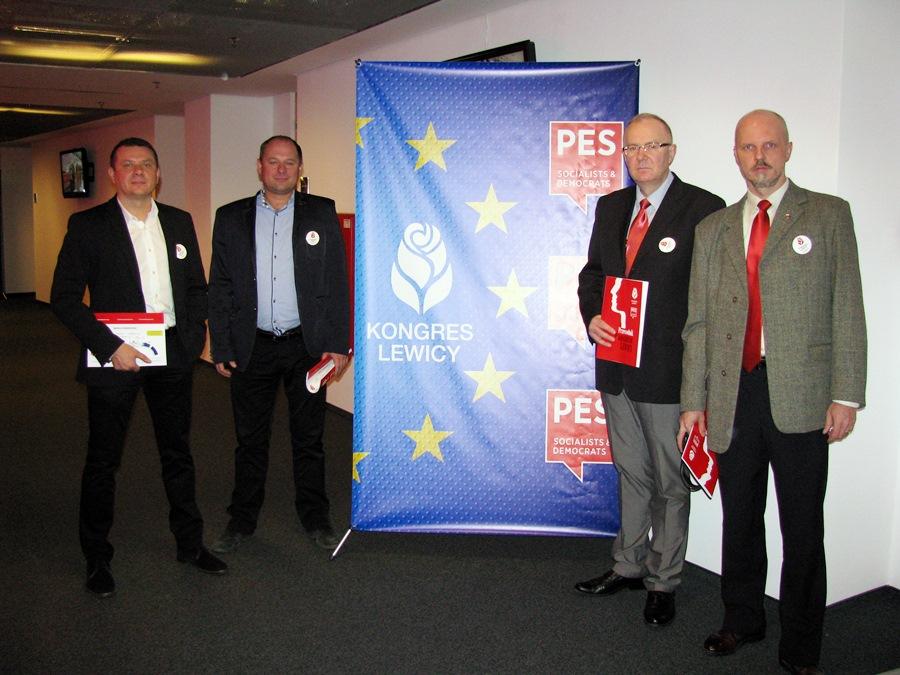 Przedstawiciele z Turku na Kongresie Lewicy w Warszawie