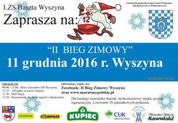 Wyszyna: II Bieg Zimowy już 11 grudnia