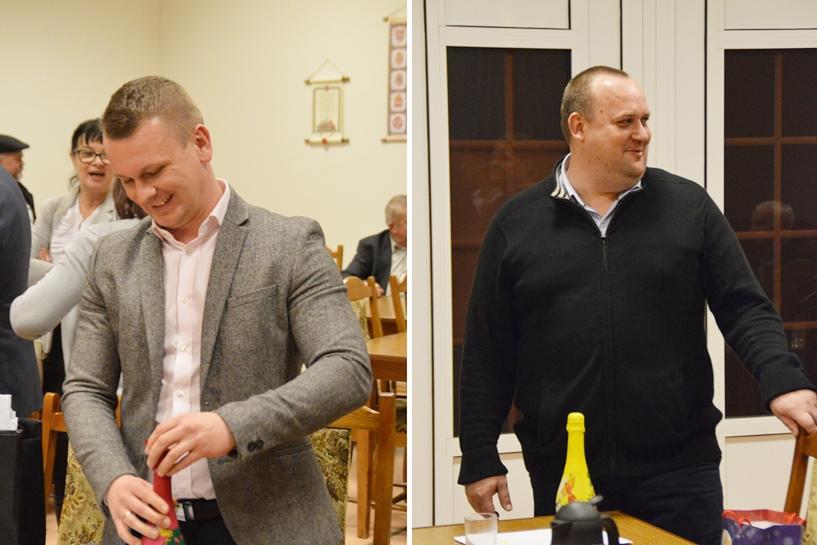 Władysławów: Radni zostali tatusiami. Były gratulacje, szampana też nie zabrakło