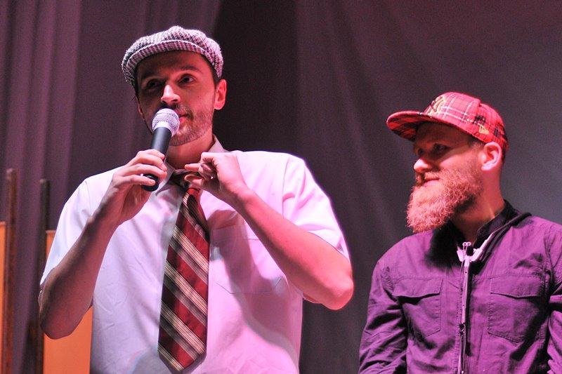 Takiego koncertu w Turku jeszcze nie było. DJ Tas z zespołem zagrali w Przystani - foto: M. Derucki