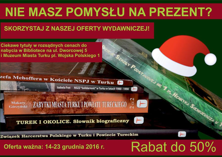 Świąteczna promocja w bibliotece