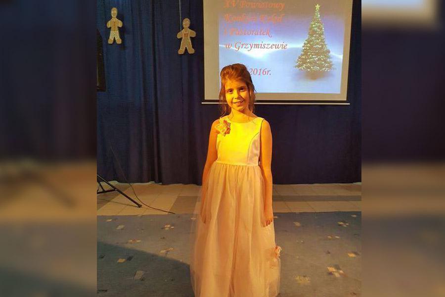 Wokalisci MDK Turek nagrodzeni na Festiwalu w Grzymiszewie - foto: nadesłane